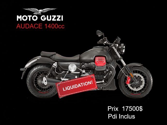 Moto Guzzi Audace Liquidation
