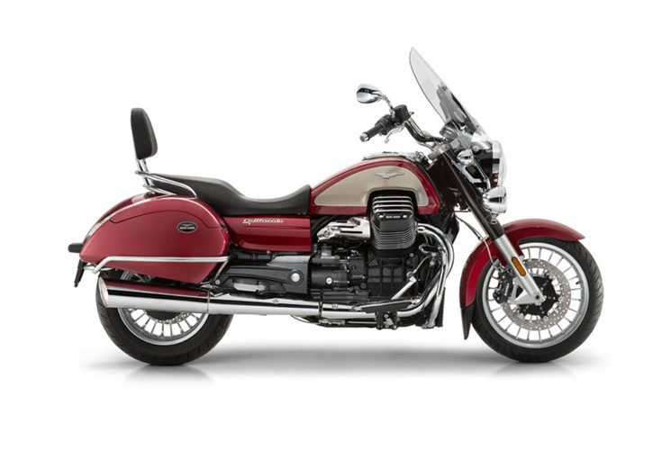 California 1400 Touring, comfort and performance for Moto Guzzi reference