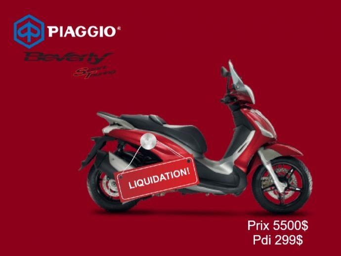 Piaggio BV 350  Liquidation