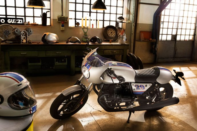 Moto Guzzi V7 III Rough Racing café