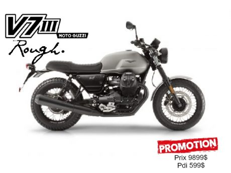 2018 Moto Guzzi V7 III Rough