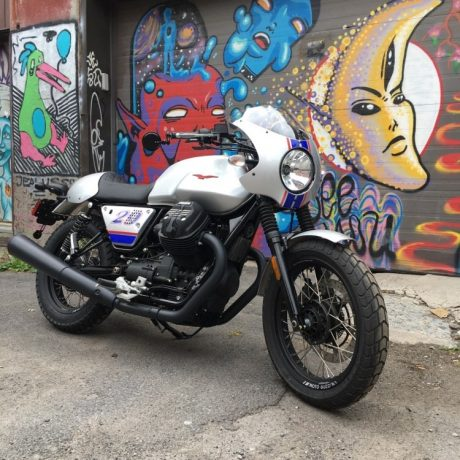 Moto Guzzi V7 III Rough Racer spécial édition  2018