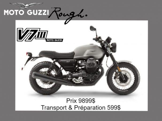 Moto Guzzi V7 III Rough 2018