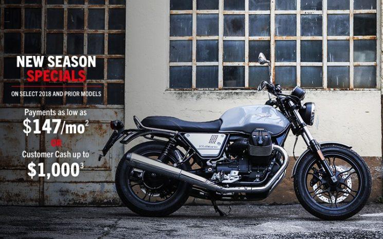 Special Offers Moto Guzzi 2019