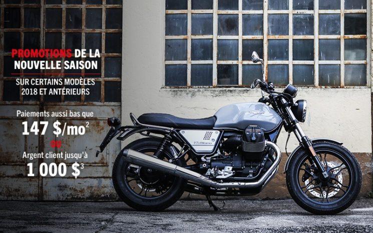 Promotion Moto Guzzi 2019