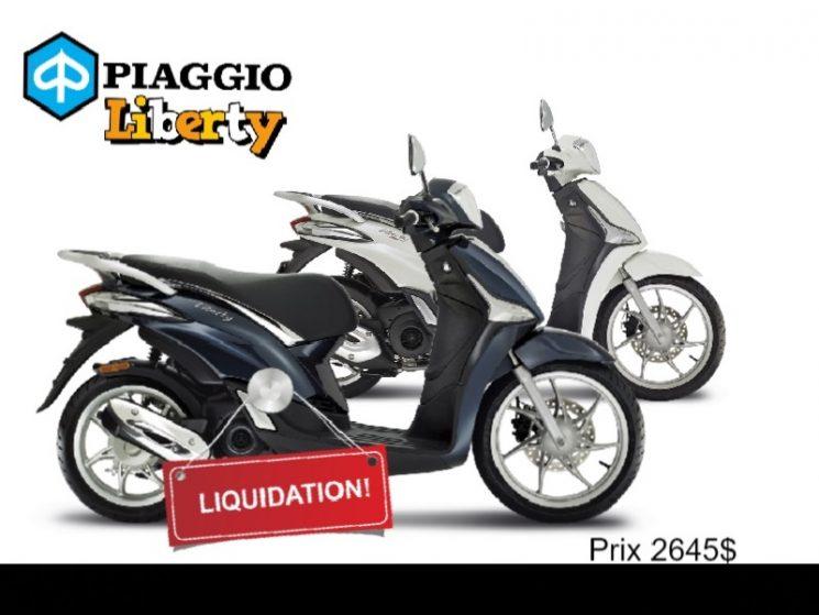 2018 Piaggio Liberty 50 ie