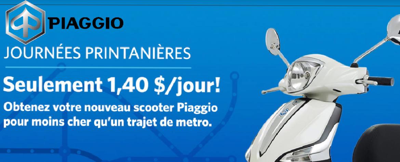 Promotion Piaggio