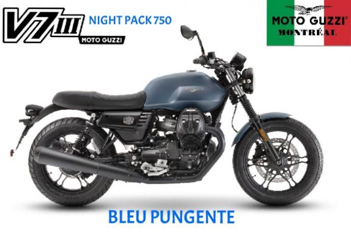 Moto Guzzi V7III Night Pack 2019