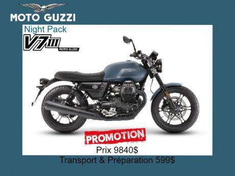 2019 Moto Guzzi V7 III Stone Night Pack