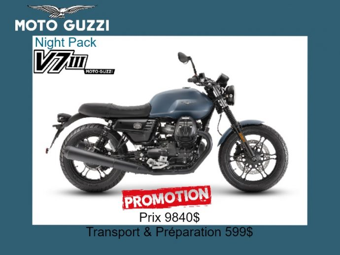 Moto Guzzi V7III 2019 Night Pack
