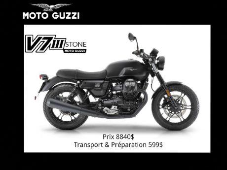 2019 Moto Guzzi Stone III