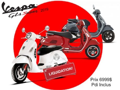 Vespa GTS Super Sport  300 ie 2019 2019