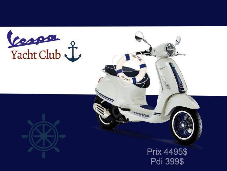 Vespa Primavera 50  yacht club 2020
