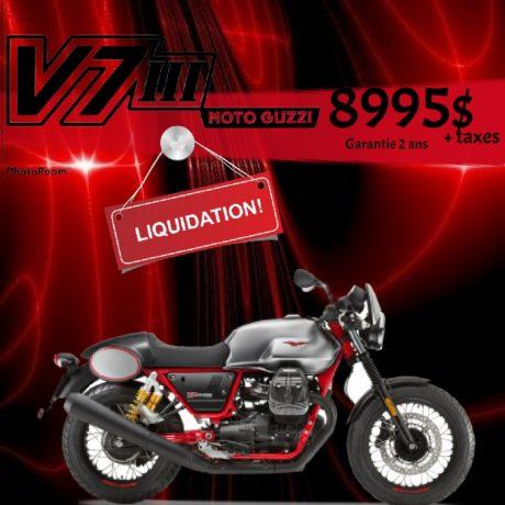 2017 Moto Guzzi V7 III Racer
