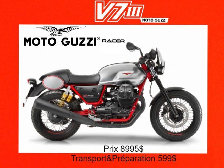 Moto Guzzi V7 III Racer 2017