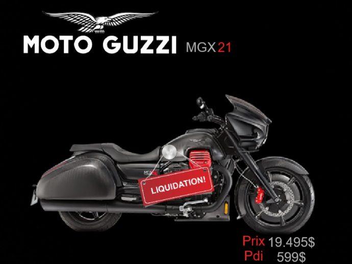 Moto Guzzi MGX-21 Liquidation