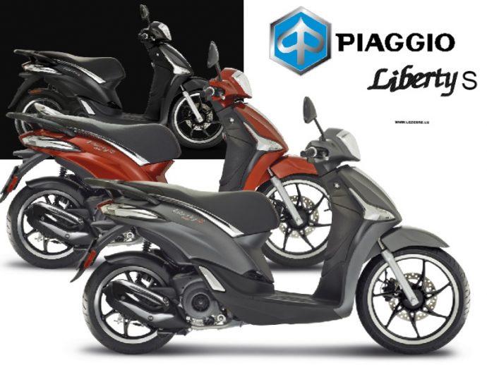 Piaggio Liberty S 50 2018-2020