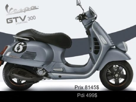 Vespa GTV 300 ie hp 2020
