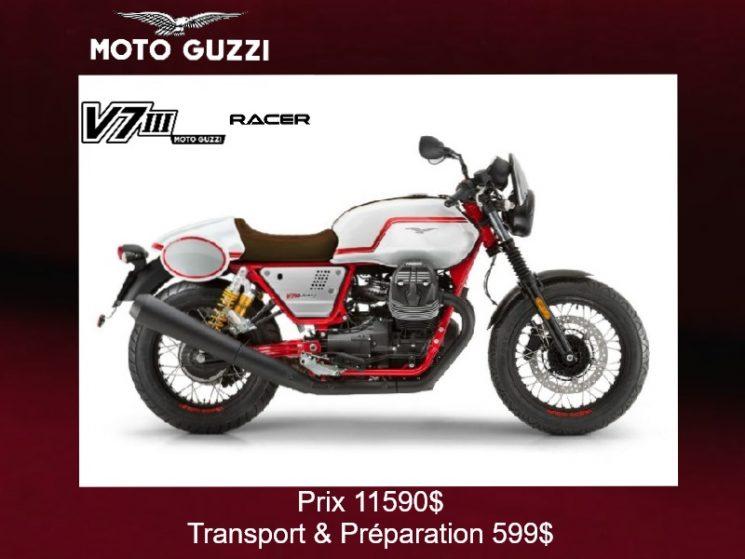 Moto Guzzi V7 III Racer 2020