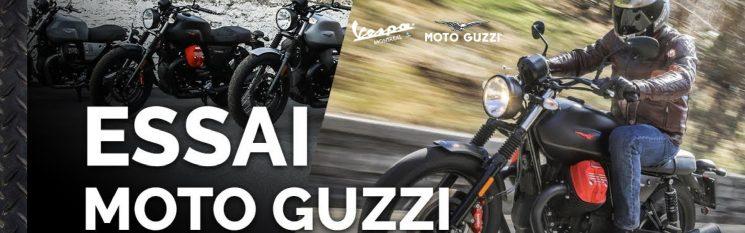 Essai de Moto Guzzi V7III,V85.Audace1400,Griso 1200