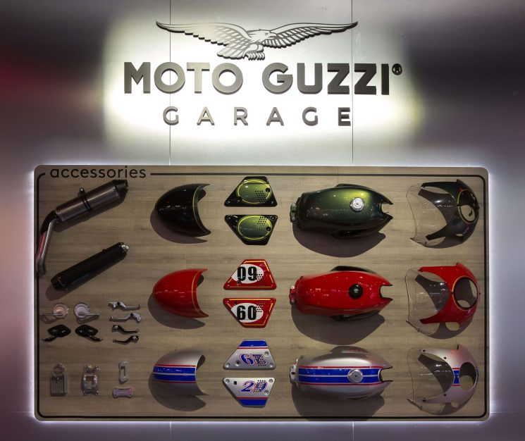 Catalogue accessoires Vespa.Moto Guzzi