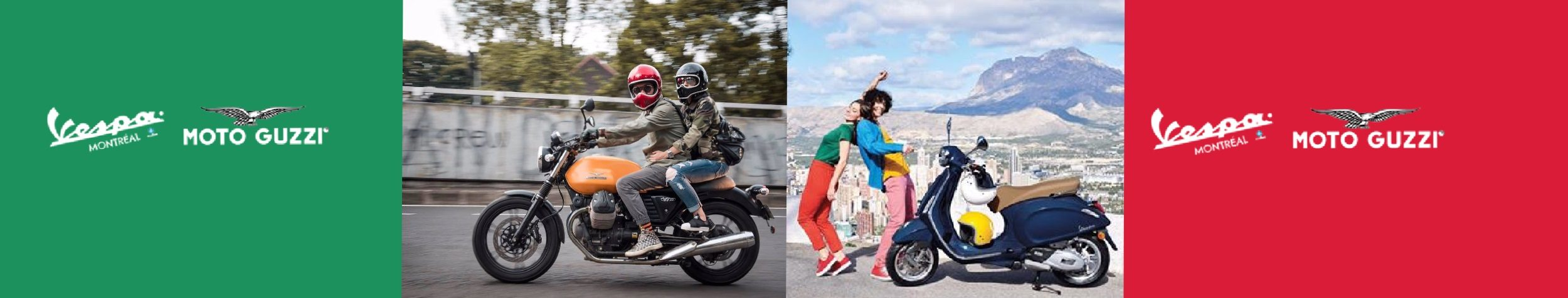 Vespa Montréal et Moto Guzzi