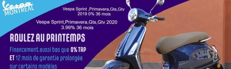 Promo Vespa 2020