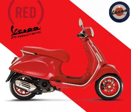 2021 Vespa Primavera  Red édition