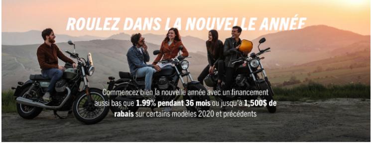 Promo Moto Guzzi 2020