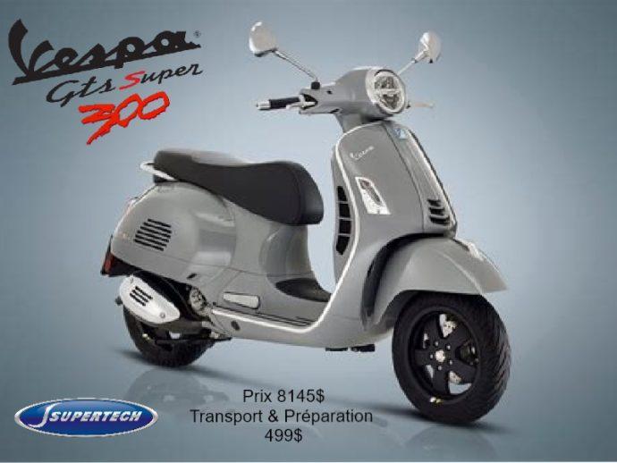 Vespa Gts 300 Super tech 2021
