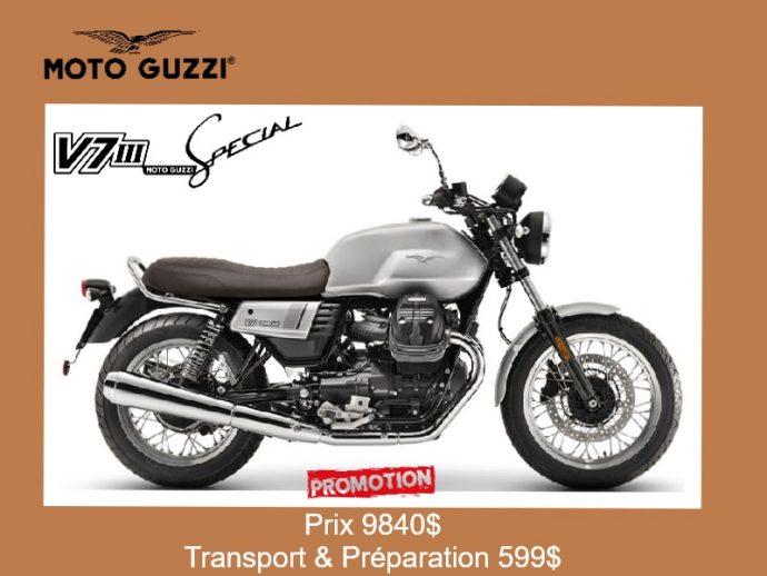 Moto Guzzi V7III Spécial 2019