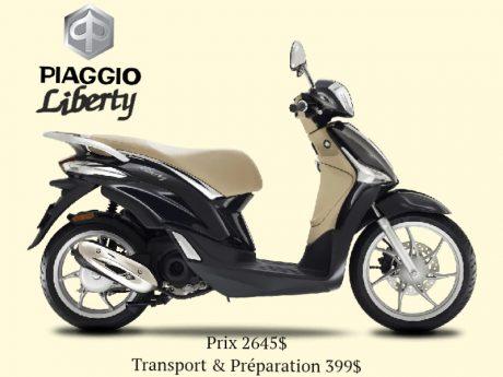 2020 Piaggio Liberty 50