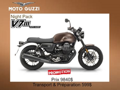 Moto Guzzi V7 III Stone Night Pack 2019