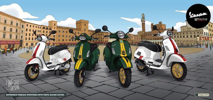 Vidéo Vespa Piaggio Moto Guzzi Honda Montréal