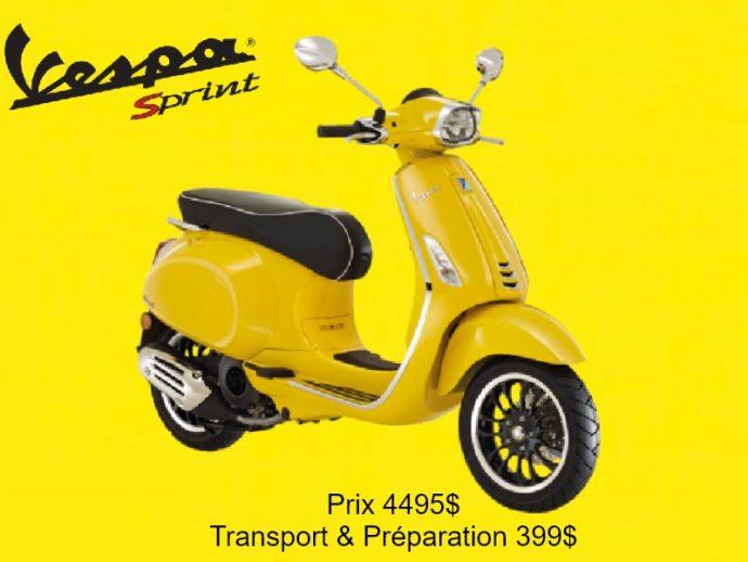 Vespa Sprint 50cc 2020  IGET4