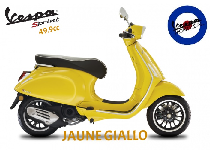 Vespa Sprint 50 IGET4 2021