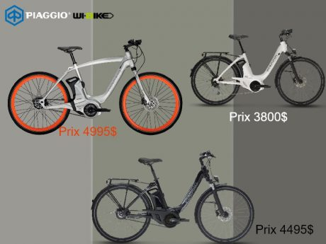 Piaggio Wi-Bike Active confort plus 2018