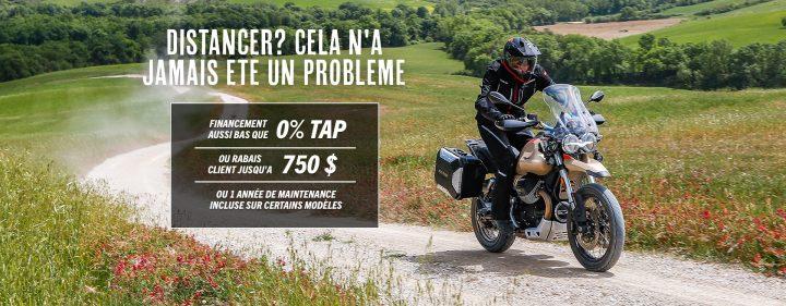 Promo Moto-Guzzi Août