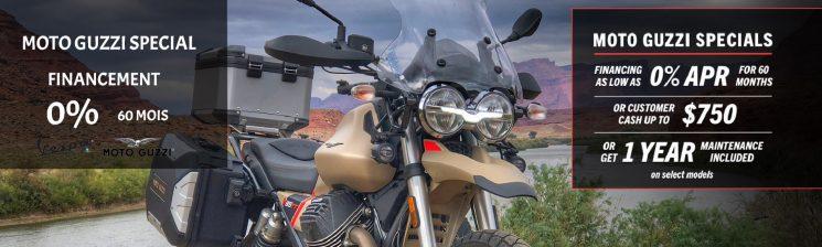 Promo Moto-Guzzi Octobre