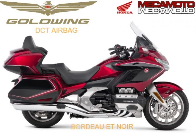 Honda Gold wing airbag tour dct abs 2019
