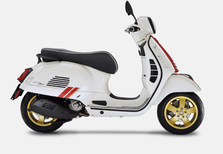 Vespa  Gts 300 Hpe Édition Racing Sixties  2021