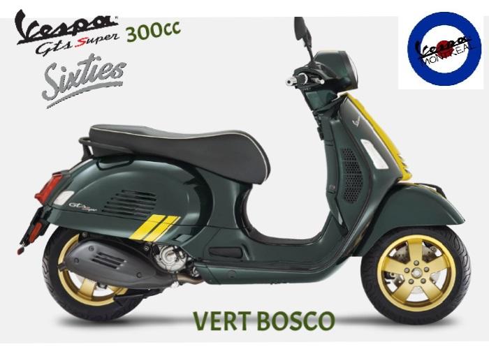 Vespa Gts 300 Hpe Édition Racing Sixties  2021