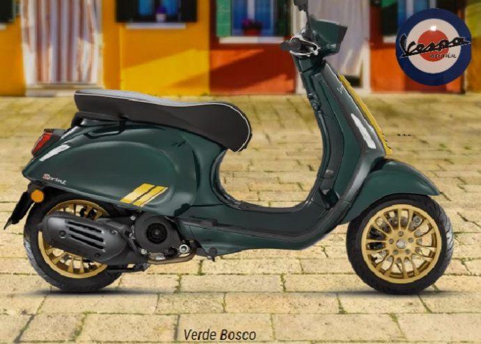 Vespa Sprint 150 iget Sixties 2021