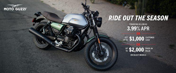 Moto Guzzi promo 2021