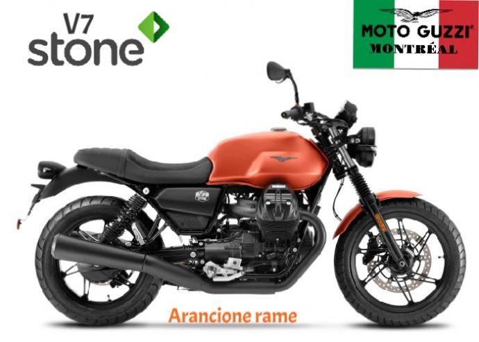 Moto Guzzi Stone 2021