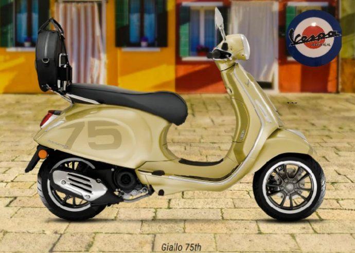 Vespa Primavera sport 150cc 75th 2022