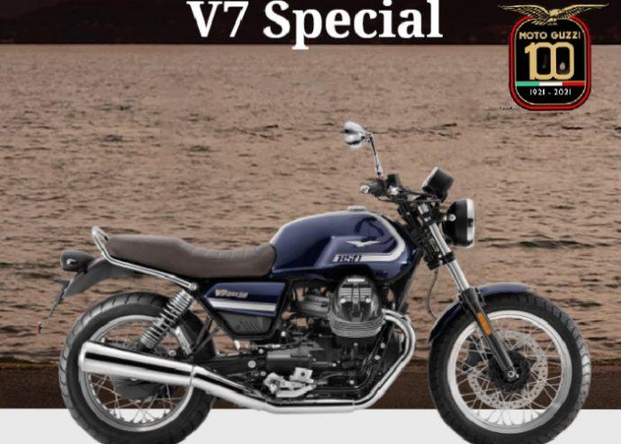 Moto Guzzi V7 850 Spécial